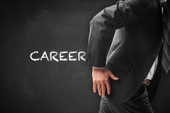 Career acceleration stock photo