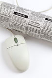 Career Ad. Fake Classified Ad, newspaper, job concept Stock Images
