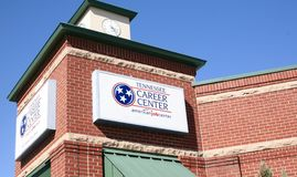Career Center of Tennessee Stock Images