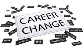 Career Change Job Work Opportunity Concept Royalty Free Stock Photography