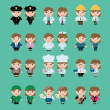 Career Character, vector Stock Image