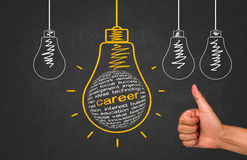 Career concept royalty free stock images