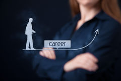 Career concept stock image