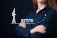 Career concept Royalty Free Stock Photography