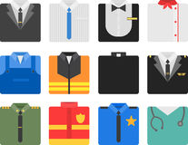 Career costumes Royalty Free Stock Photography