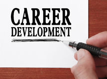 Career development Stock Image