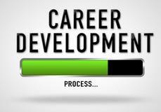 Career Development. Process bar illustration Royalty Free Stock Photos