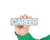Career Diagram Dry Erase Board How to Succeed in Job Royalty Free Stock Photography