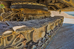 Career excavator for mining of limestone Stock Image