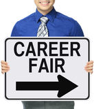 Career Fair Royalty Free Stock Photo