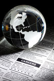 Career. Fake Classified Ad, newspaper, business concept Royalty Free Stock Photo