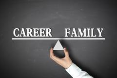 Career Family Balance Royalty Free Stock Photo