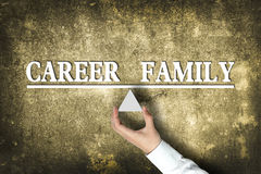 Career Family Balance Stock Image