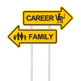 Career or family Royalty Free Stock Images