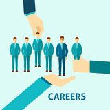 Career Flat Icon Stock Photography