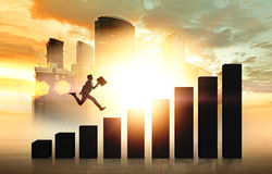 Career growth Stock Photography