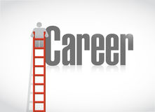 Career growth concept illustration design Royalty Free Stock Image