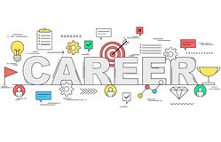 Career growth concept Stock Images