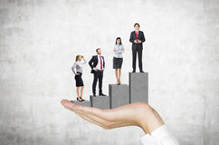 Career growth stock images