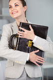 Career in hands Royalty Free Stock Photos