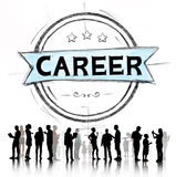 Career Job Goal Expertise Skill Talent Concept Royalty Free Stock Photo