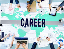 Career Job Occupation Business Marketing Concept Royalty Free Stock Images