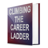 Career ladder concept. Royalty Free Stock Images