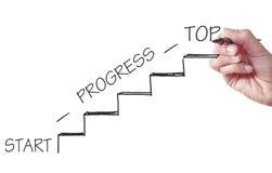 Career ladder concept Stock Image