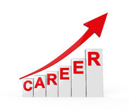 Career Ladder Isolated Royalty Free Stock Image