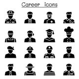 Career & Occupation icons Stock Images