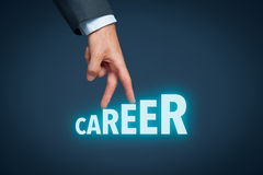 Career and personal development Stock Images