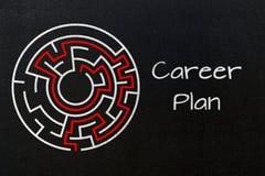 Career plan concept Stock Photo