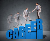 Career progress Royalty Free Stock Photography