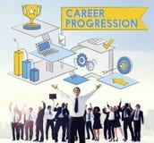 Career Progression Promotion Achievement Success Concept Stock Photos