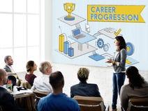 Career Progression Promotion Achievement Success Concept Stock Images