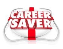 Career Saver Life Preserver Career Job Rescue Royalty Free Stock Photo