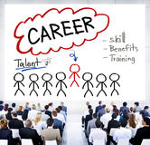 Career Talent Skill Talent Benefits Occupation Concept Stock Image
