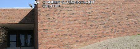 Career and Technology Training Center Royalty Free Stock Photos
