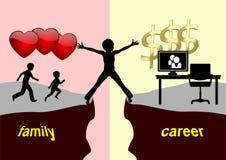 Career versus Motherhood stock photo
