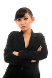 Career woman. Portrait of beautiful confident career woman Royalty Free Stock Image
