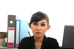 Career woman. Portrait of beautiful career woman Stock Photos