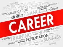 Career word cloud Royalty Free Stock Photos