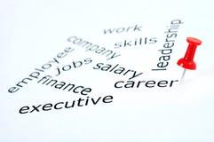 Career word Stock Photos
