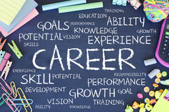Career working experience business concept