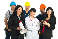 Careers people Stock Images