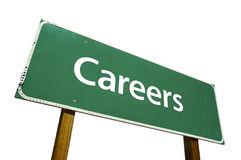 Free Careers - Road Sign. Royalty Free Stock Image - 4563816