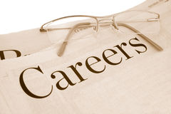 Careers section Stock Photography