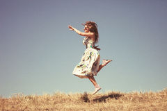 Carefree Royalty Free Stock Photo