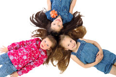 Carefree barndom! Royaltyfri Bild