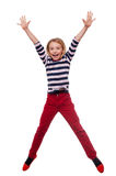 Carefree child. Royalty Free Stock Photos